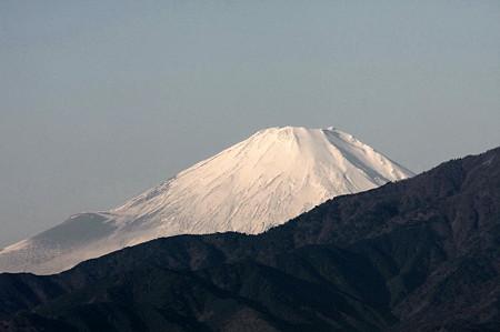 2010.12.27 散歩道 富士山