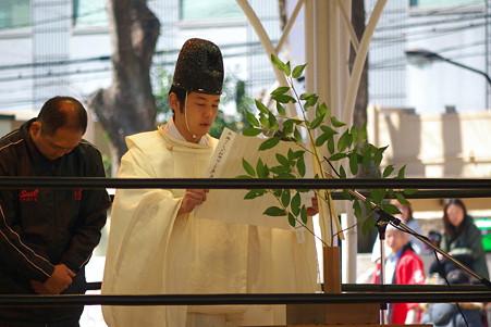 2011.03.27 靖国神社 ZERO1奉納プロレス 祝詞