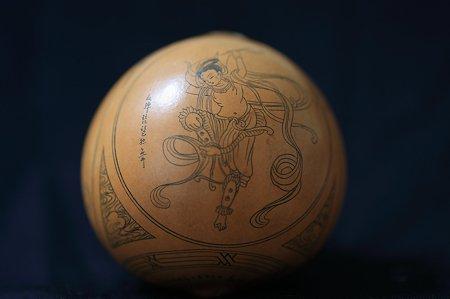 1995.07.13 敦煌 ひょうたん彫り 円彫の秘密があった