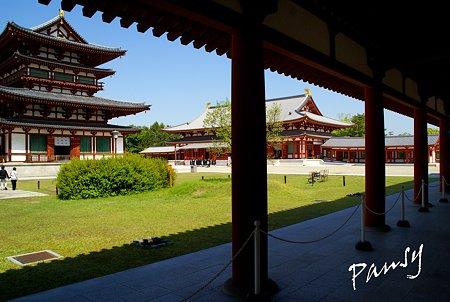奈良 薬師寺にて・・6
