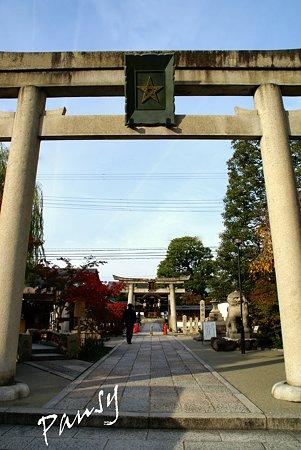 一の鳥居 清明神社・・10