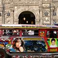 マラテ教会とジプニー Church & Jeepney