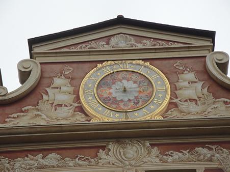 ホテルミラコスタの時計