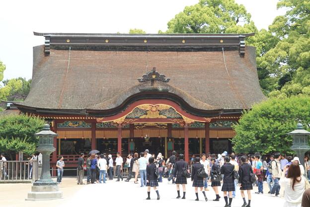 Photos: 100521-65九州ロングツーリング・太宰府天満宮本殿