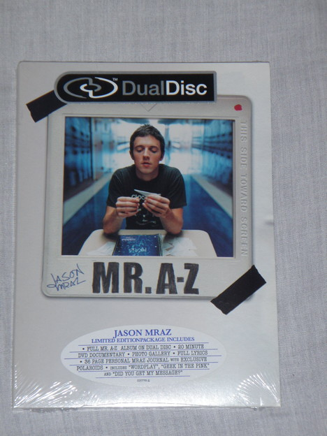 Jason Mraz - Mr.A-Z Limited Edition(Dual-Disc)