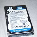 Western Digital Scorpio Blue 2.5inch 5200rpm 1TB 8MB SATA WD10TPVT - 本体_P5120009