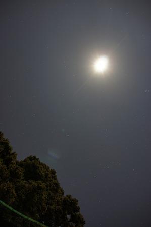 大山から星を撮ってみた