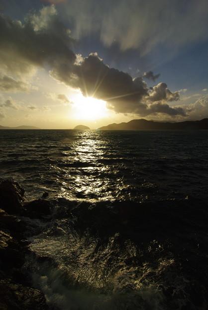 2010年 最後の夕陽の輝き(2)