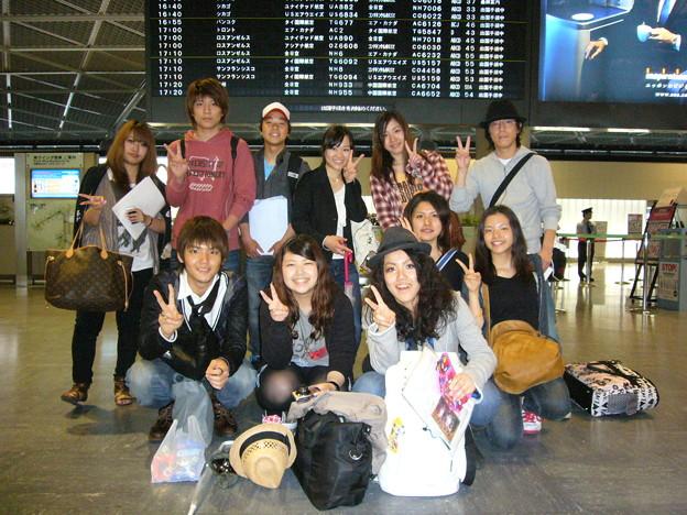 Photos: 渡航日 成田にて