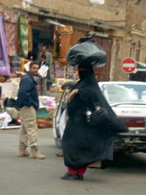 イエメン サナアの人