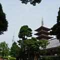 Photos: 浅草寺 五重塔と