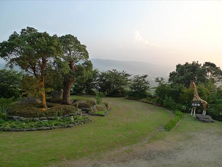 原鶴温泉・ビューホテル平成~花農家(5)