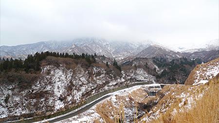 冬の仙酔峡(1)