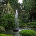 写真: 噴水(2) 日本最古の噴水 兼六園
