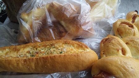三星のパン