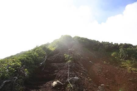 利尻岳-20100814-094040