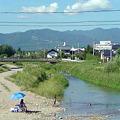Photos: 喜多方の小荒井と小田付を分...