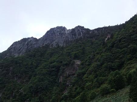石鎚山北壁