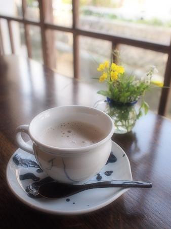 伊豆下田 草画房のカフェオレ